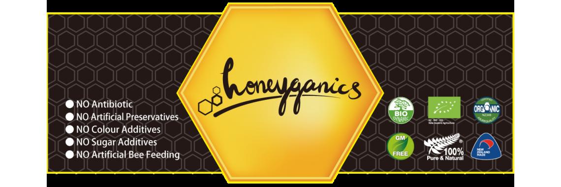 Honeyganics frontpage 01