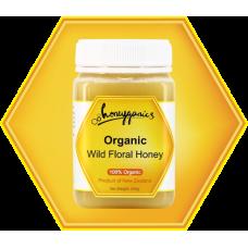 100% Organic Wild Floral Honey