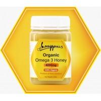 100% Organic Omega 3 Honey